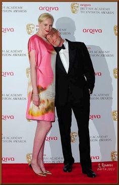 Gwendoline Christie & Charles Dance - BAFTA 2013 Red Carpet