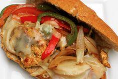 Philly Cheese & Chicken Sandwich