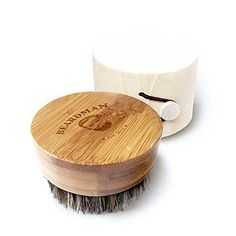 The Beardman Beard Brush- 100% Boar Bristles - With a a Beautiful Wodden Gift Box (Round Beard Brush with Travel Case) The BEARDMAN http://www.amazon.com/dp/B01B8CR8TE/ref=cm_sw_r_pi_dp_YVLSwb0HN6J0K