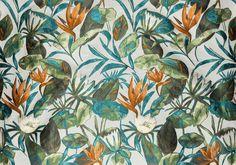 BROCHIER Home decor textile - Interior Design Fabric J3540 MORGANA 003 Smeraldo