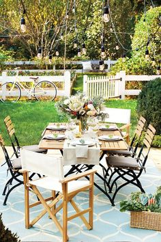 Outdoor Objects : On a gorgeous Spring day, there's nothing more luxurious than enjoying the sunshine and fresh air, but before you can do that, you've got to get your outdoor room in order. We think of decorating outdoor rooms like you would your living room — comfortable ...