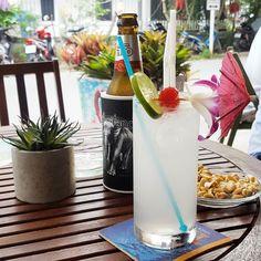 Nothing says holiday like an umbrella in your drink  . #thailand #travel #phuket #kamala #kosykinastravels #travelplanner #traveltips #cocktail #kamala #holiday