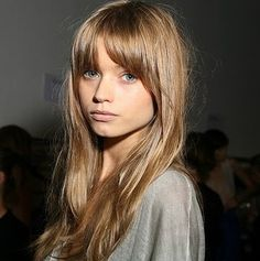 loving the hair - abbey lee