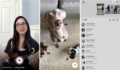 Instagram propose un mode vidéo mains libres pour ne plus avoir à maintenir le bouton d'enregistrement vidéo