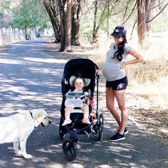 Morning walk with my babes.