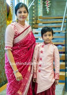 Mother Son Matching Indian Outfits, online shopping , mom dad and son matching outfits, family matching ethnic wear, party wear Mom Daughter Matching Dresses, Mom And Son Outfits, Mom And Baby Dresses, Baby Boy Dress, Twin Outfits, Kids Outfits, Kids Blouse Designs, Kurta Designs, Viria