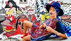 """A Vibrant Soul"" with Sasha Pereira  - the hidden gem of Fado Graffiti in Old Town Mouraria Lisbon viva la Maria Severa!"