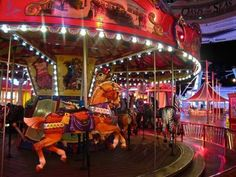 How about a ride on Oasis Of The Seas' carousel?  #cruise #travel #royalcaribbean