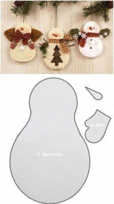 1bf095c0d rukami.yourarticles.ru Artesanías De Navidad, Adornos De Navidad, Adornos  De Natal