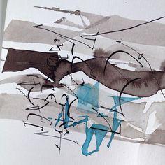 #calligraphyspace #impromptu #каллиграфия #экспромт #calligraphy