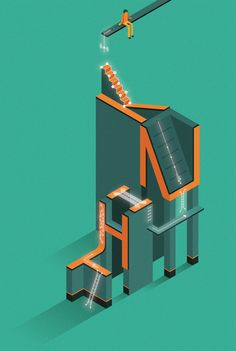 IBM THINK - Man With Machine on Behance