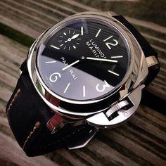 watch Panerai Luminor Marina - the transporter Dream Watches, Fine Watches, Luxury Watches, Cool Watches, Watches For Men, Men's Watches, Rolex, Panerai Luminor Marina, Panerai Watches