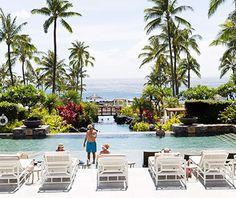 The new Montage Kapalua Bay resort, Maui.