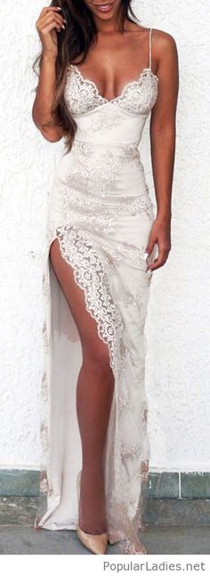 Stunning dress from lace
