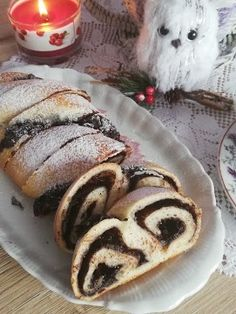 Helenkine dobroty - Kváskový koláč pudingový Pancakes, Bread, Baking, Buns, Breakfast, Food, Basket, Bread Making, Meal