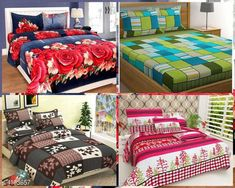 Bedsheets Fashionable Polycotton Double Bedsheets Combo (Pack Of 4) Fabric: Polycotton No. Of Pillow Covers: 2 Thread Count: 160 Multipack: Pack Of 4 Sizes: Queen (Length Size: 100 in Width Size: 90 in Pillow Length Size: 27 in Pillow Width Size: 17 in) Country of Origin: India Sizes Available: Queen   Catalog Rating: ★4.1 (14665)  Catalog Name: Trendy Polycotton 90x90 Double Bedsheets Vol 13 CatalogID_583559 C53-SC1101 Code: 738-4103657-7212