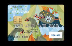 credit card graphic Creative and Beautiful Credit Card Designs - Hongkiat Credit Card Scanner, Credit Card Wallet, Rewards Credit Cards, Best Credit Cards, Chase Credit, Credit Card Design, Bank Card, Branding, Card Games