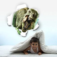 MarswayTM 3D View Dinosaur Kids Children Boys Room Decor Dinosaur Wall Decals Mural Dinosaur 2 >>> To view further for this item, visit the image link.