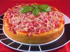 Cheescake de pizza Ana Sevilla Con Thermomix
