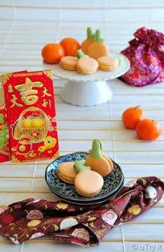 Made these Tangerine Macarons last year for Chinese New Year (大吉大利馬卡龍) They were a hit and I can't wait to make more this year!