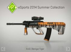 AUG | Bengal Tiger | eSports 2014 Summer | CS:GO | SKIN