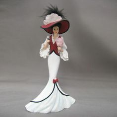 coca cola lady figurine | ... Couture Lady Figurine Seaside Memories of Coca Cola Bradford | eBay