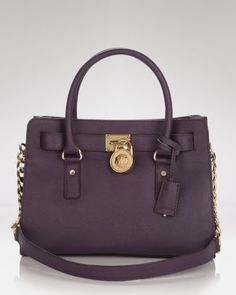 MICHAEL Michael Kors Satchel - Hamilton - Jewel Tones - Accessories Trends - Fall Style Guide: It's On - LOOKBOOKS - Fashion Index - Bloomingdale's