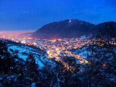 Reveal in a balanced and appealing way so as to discover the culture, the people, the cities and the many fascinating places. Beautiful Places In The World, Most Beautiful, Brasov Romania, Between Two Worlds, Go See, Mount Rainier, Winter Wonderland, Cities, Places To Visit