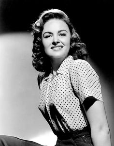 """Donna Reed, Jan.27,1921 - Jan.14,1986. ('Mary' In """"It's A Wonderful Life""""). Pancreatic Cancer"""