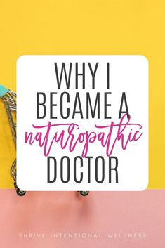 Why I Became a Naturopathic Doctor - Thrive Personal Wellness, Wellness Tips, Health And Wellness, Stress Relief Tips, Natural Stress Relief, Adrenal Health, God Will Provide, Natural Medicine, Good Advice