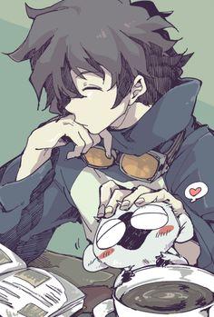 Leo and Sonic - Kekkai Sensen Otaku Anime, Anime Guys, Manga Anime, Anime Art, Fan Art, Character Art, Character Design, Tokyo Ghoul, Ville New York