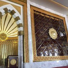 Foto diambil di Masjid Agung Trans Studio Bandung oleh Oka M. pada 5/25/2017