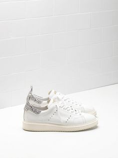 on sale 76d19 7abf0 Golden Goose Starter 2015 Femme Blanc Sneaker Sale, Sneaker Outlet, Tennis  Sneakers, Superstar
