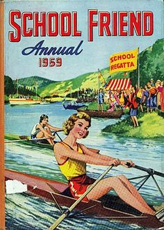 School Friend Annual 1959 - Another of the annuals I received for Christmas.