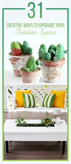 31 Clever Ways To Decorate Your Outdoor Space