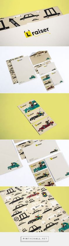 L Raiser Branding - Sam Cooper Portfolio - The Loop | Fivestar Branding – Design and Branding Agency & Inspiration Gallery
