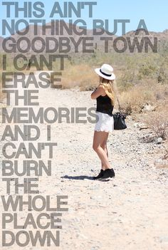 Goodbye Town~ Lady Antebellum- ❤