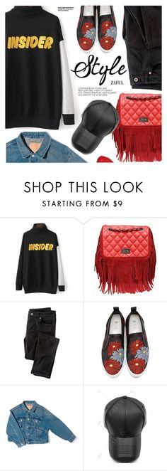 """Casual Style"" by pokadoll ❤ liked on Polyvore featuring Wrap, MSGM, Balenciaga, Hedi Slimane, Christian Louboutin, polyvoreeditorial and polyvoreset"