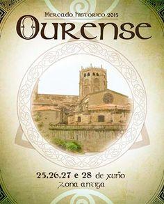 Mercado Histórico en Ourense 25-28 junio