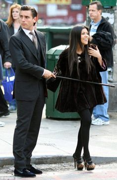Haha--he's kind of turning into my favorite Kardashian.