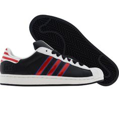 Adidas Superstar II 2 (dark navy / light scarlet / white) 031679 - $69.99 Adidas Casual Shoes, Casual Sneakers, Adidas Shoes, Adidas Superstar, Dark Navy, Shoe Boots, Guy, Drop, My Style
