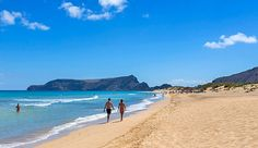 The massive beautiful #beach in Porto Santo | 7 reasons you book a holiday on Porto Santo | Weather2Travel.com #portosanto #madeira #travel #holiday