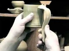 Pottery Video of the Week: Tony Clennell Demonstrates How to Pull Great Looking Handles for Pottery