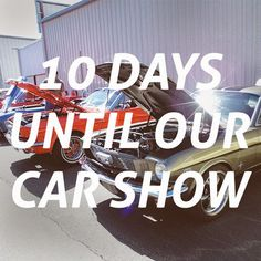 The count down begins. 10 more days until our car show. #mustangsplus   #mustangs   #stockton   #carshow