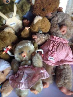 Ana Caldatto : Brinquedo anos 80 Pelúcia Família Ursinho Peposo