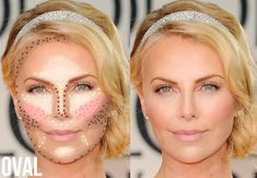 Amazing Highlight And Contour Makeup ^_^2 - Contour Oval Face ...