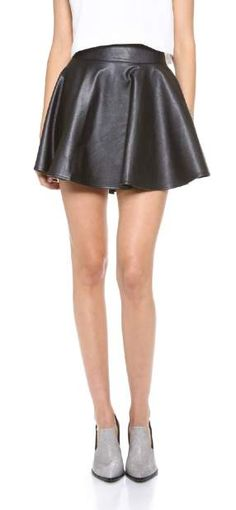 By Chance 'Kelly' faux leather skirt ($142), available at www.shopbop.com.
