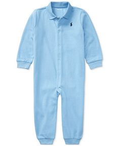 Baby boys babygrow / coverall by Ralph Lauren in blue with navy pony embroidery on chest. - fits months : height (eu full length sleeves with ribbed cuffs. Baby Boy Newborn, Baby Kids, Ralph Lauren Kids, Boy Blue, How To Look Classy, Baby Clothes Shops, Baby Boy Outfits, Baby Shop, Mens Tops