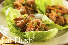 Curry Chicken Lettuce Wraps- Official Fat Flush Recipe