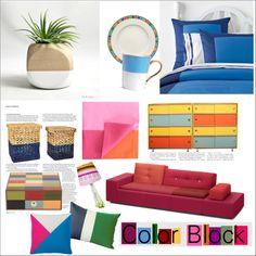 """Color Block"" by fattie-zara on Polyvore"